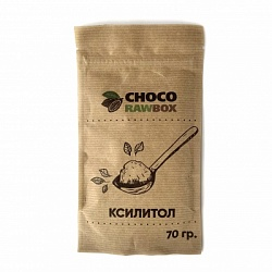 Ксилитол, ChocoRaw Box, 70 г